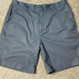 "Adidas Stretch Clima Cool 36 9"" inseam Pinstripes"